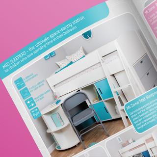 Mizone Brochure - Example of an inside spread.