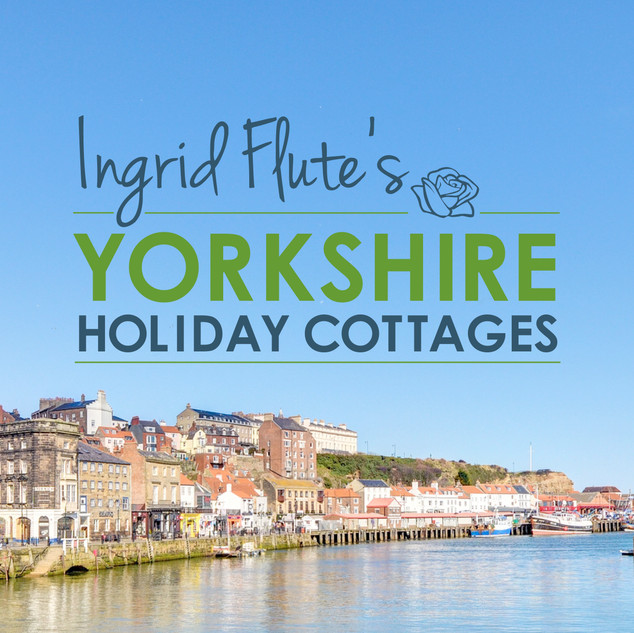 Ingrid Flute's Yorkshire Holiday Cottages - Logo in full colour