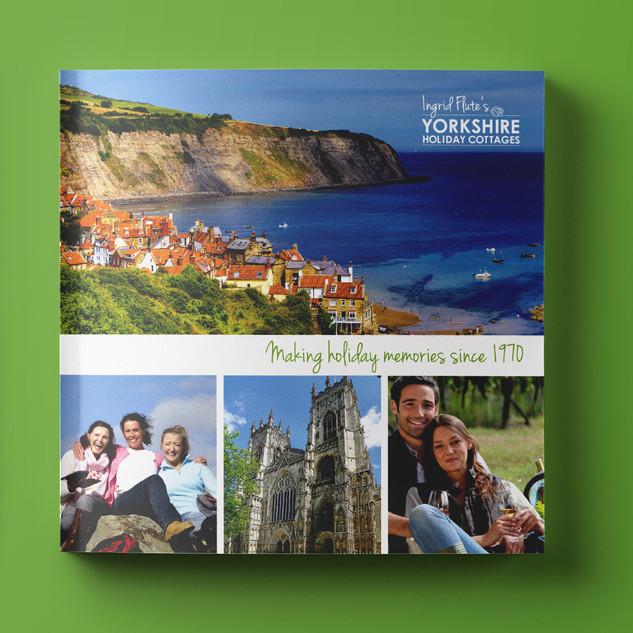 Ingrid Flute's Yorkshire Holiday Cottages - Inspirational Brochure