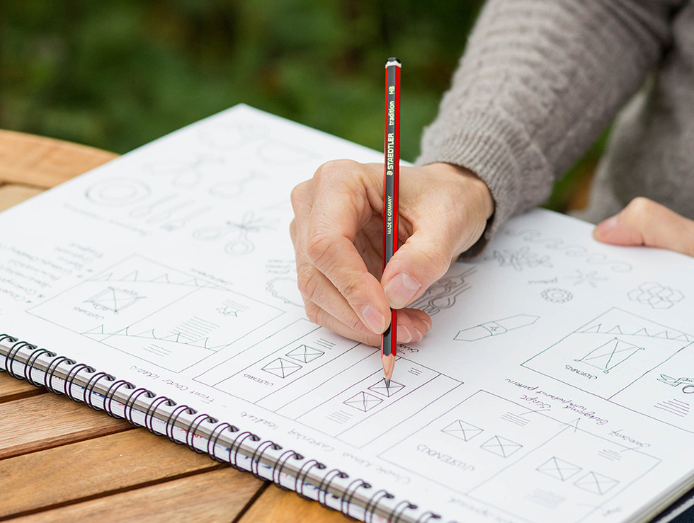 5 Reasons why sketching is essential in a design process.