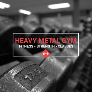 Heavy Metal Gym - new logo