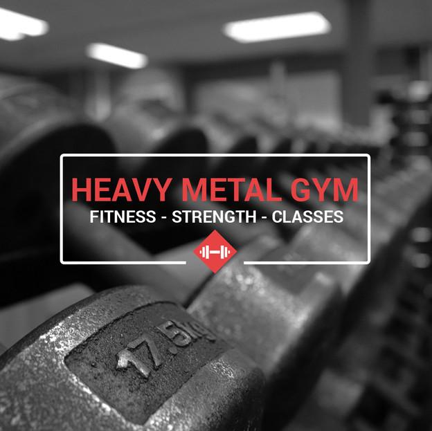 Heavy Metal Gym - new logo