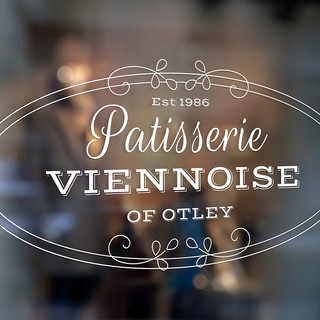 Patisserie Viennoise Logo - White