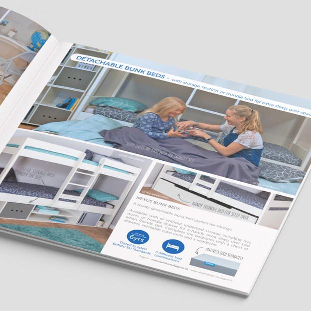 Internal page layout