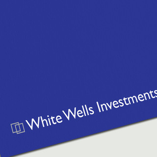 White Wells Investments LLP - Business Card - Close Up