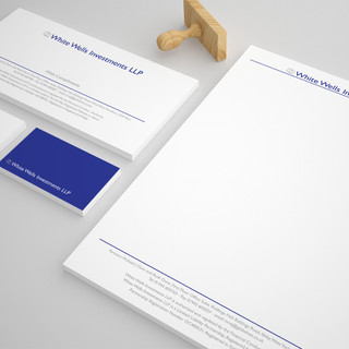 White Wells Investments LLP - Stationery Set