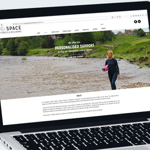 About Page, Space Fitness & Wellbeing