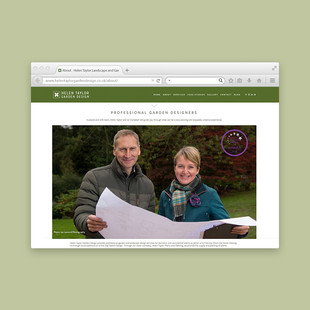 Helen Taylor Garden Design - About Page