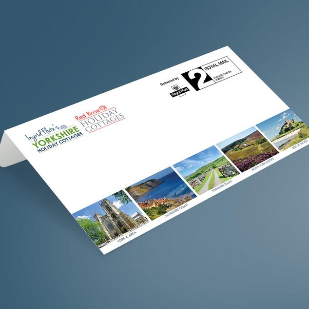 Ingrid Flute's Yorkshire Holiday Cottages - Branded Envelopes