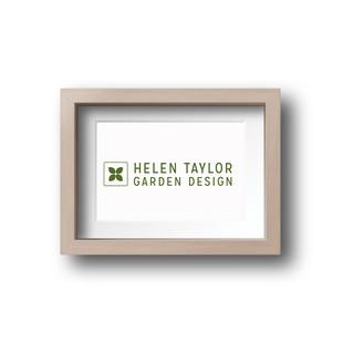 Helen Taylor Garden Design - New logo in green