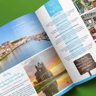 The Whitby double spread in the Inspirational Brochure