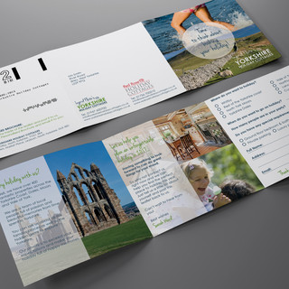 Ingrid Flute's Yorkshire Holiday Cottages - Direct Mail Campaign