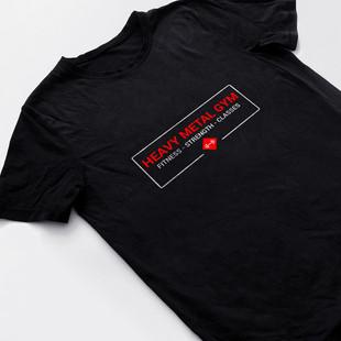 Heavy Metal Gym - T-shirt