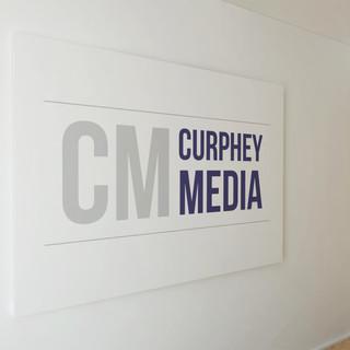 CM Curphey Media - Logo