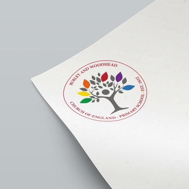 Burley and Woodhead C of E Primary School - Logo
