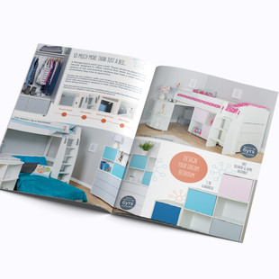 12 page brochure - example of double spread