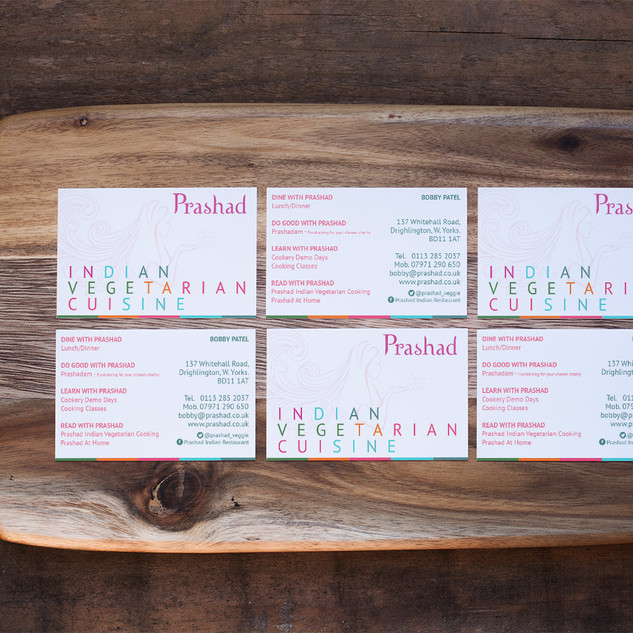 Prashad - Business Cards