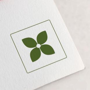 Brand signature - The Cornus flower