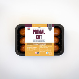 Packaging Design For Primal Cut's Hot & Spicy Range