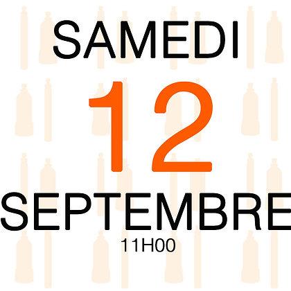 Atelier du Samedi 12 septembre 2020, 11H00