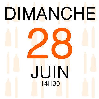 Atelier du Dimanche 28 juin 2020, 14H30