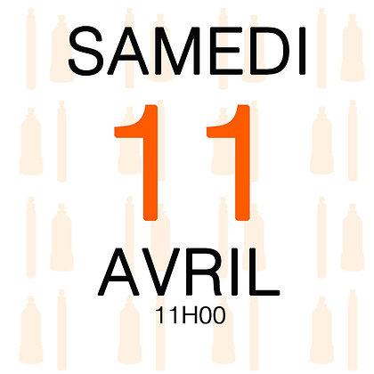 Atelier du Samedi 11 avril 2020, 11H00