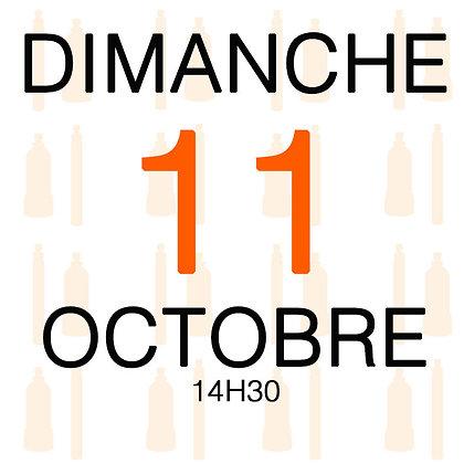 Atelier du Dimanche 11 octobre 2020, 14H30