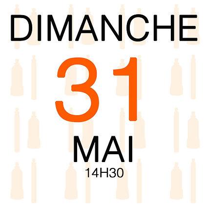 Atelier du Dimanche 31 mai 2020, 14H30