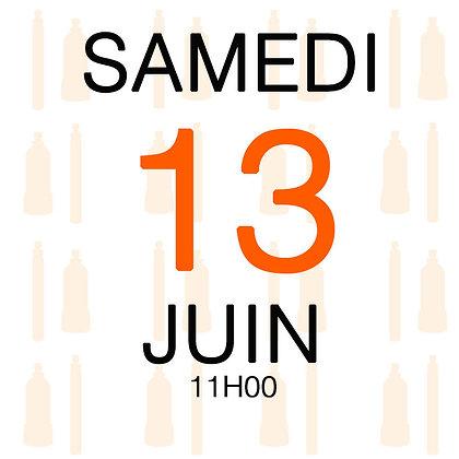 Atelier du Samedi 13 juin 2020, 11H00