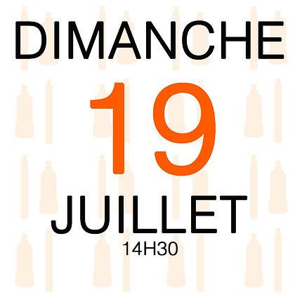 Atelier du Dimanche 19 juillet 2020, 14H30