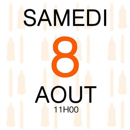 Atelier du Samedi 8 aout 2020, 11H00