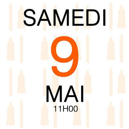 Atelier du Samedi 9 mai 2020, 11H00