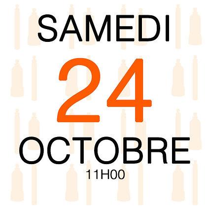 Atelier du Samedi 24 octobre 2020, 11H00