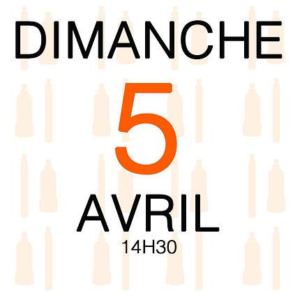 Atelier du Dimanche 5 avril 2020, 14H30