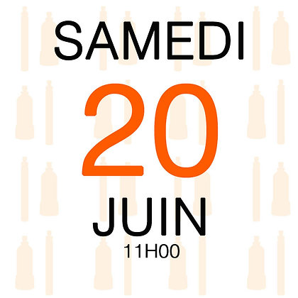 Atelier du Samedi 20 juin 2020, 11H00