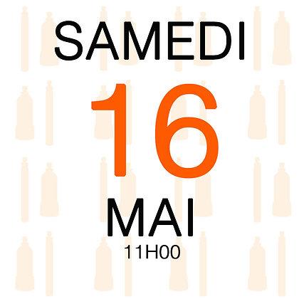 Atelier du Samedi 16 mai 2020, 11H00