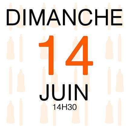 Atelier du Dimanche 14 juin 2020, 14H30