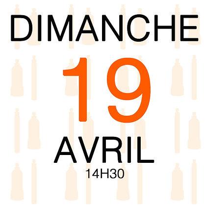 Atelier du Dimanche 19 avril 2020, 14H30