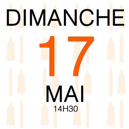 Atelier du Dimanche 17 mai 2020, 14H30