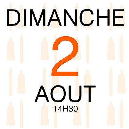 Atelier du Dimanche 2 aout 2020, 14H30