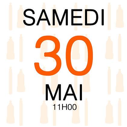 Atelier du Samedi 30 mai 2020, 11H00