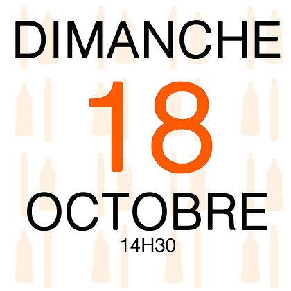 Atelier du Dimanche 18 octobre 2020, 14H30