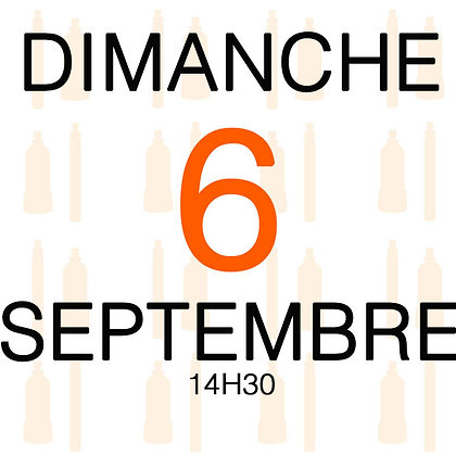 Atelier du Dimanche 6 septembre 2020, 14H30