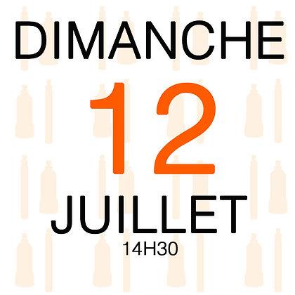 Atelier du Dimanche 12 juillet 2020, 14H30