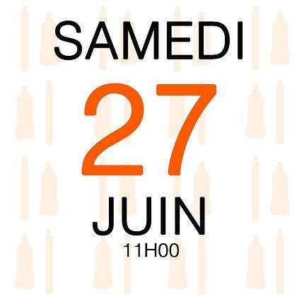 Atelier du Samedi 27 juin 2020, 11H00