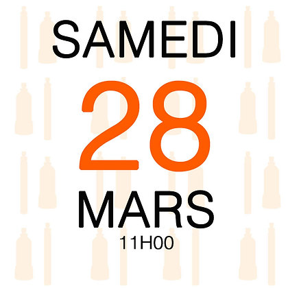 Atelier du Samedi 28 mars 2020, 11H00