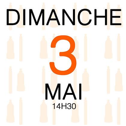 Atelier du Dimanche 3 mai 2020, 14H30