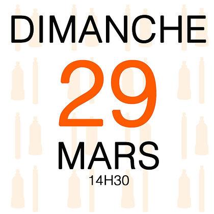 Atelier du Dimanche 29 mars 2020, 14H30