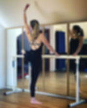 I absolutely love teaching barre - seein