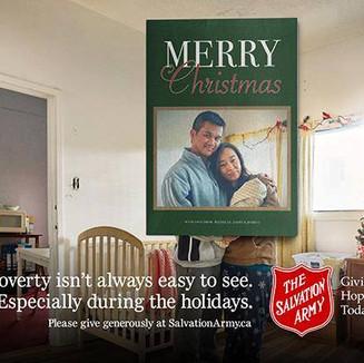 Salvation Army Billboard 2016